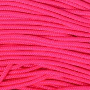 Neon Pink 425 Paracord - 50 ft