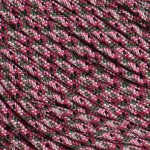 Pink Camo 425 Paracord - 50 ft