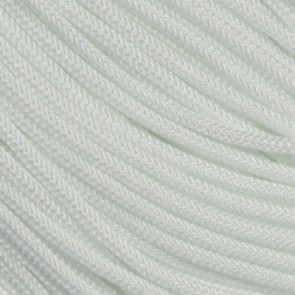 White 425 Paracord - 50 ft