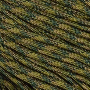 Bayou Camo 550 Paracord - 100 ft