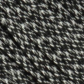 Black and White Camo 550 Paracord - 50 ft