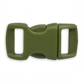 "3/8"" Side Release Buckle - Army Green"