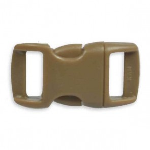 "3/8"" Side Release Buckle - Brown"