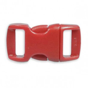 "3/8"" Side Release Buckle - Red"
