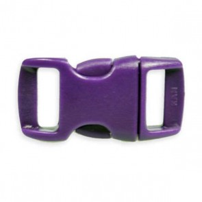 "3/8"" Side Release Buckle - Purple"