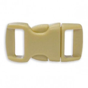 "3/8"" Side Release Buckle - Tan"