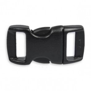 "3/8"" Side Release Buckle - Black"