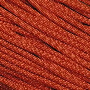 Solar (Burnt) Orange 550 Paracord - 1,000 ft Spool