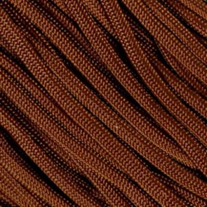Chocolate Brown 550 Paracord - 100 ft