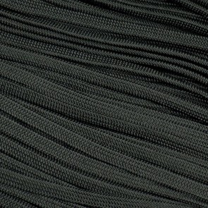 Black Coreless Paracord - 100 ft