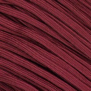 Burgundy Coreless Paracord - 100 ft