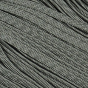 Charcoal Gray Coreless Paracord - 100 ft