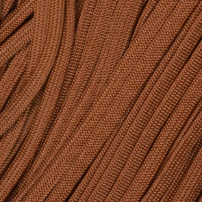 Chocolate Brown Coreless Paracord - 100 ft
