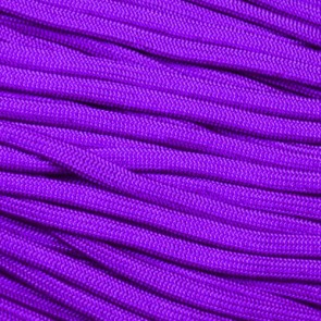Acid Purple Coreless Paracord - 100 ft