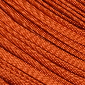 International Orange Coreless Paracord - 100 ft