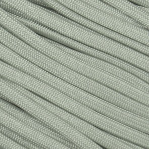 Silver Gray Coreless Paracord - 100 ft