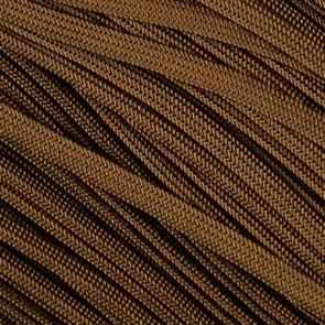 Walnut Brown Coreless Paracord - 100 ft