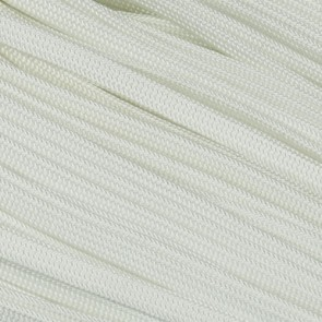 White Coreless Paracord - 100 ft