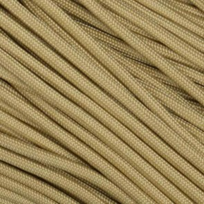 Desert Sand (Tan 380) 550 Paracord - 50 ft