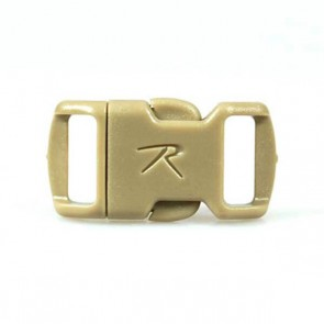"Rothco 3/8"" Side Release Buckle - Tan"