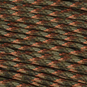 Fall Camo 550 Paracord - 50 ft