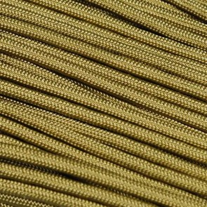 Gold 550 Paracord - 100 ft