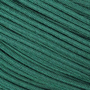 Dark (Hunter) Green 550 Paracord - 50 ft