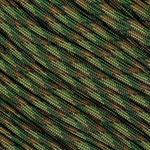Multi-Camo 550 Paracord - 50 ft