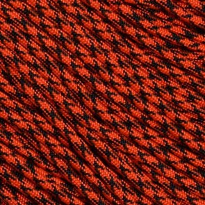 Neon Orange Camo 550 Paracord - 50 ft