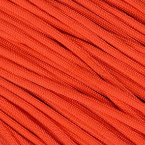Neon Orange 550 Paracord - 50 ft