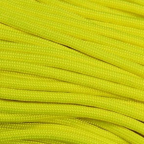 Neon Yellow 550 Paracord - 250 ft Spool