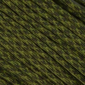 Olive Drab and Moss Camo 550 Paracord - 50 ft