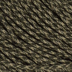 Olive Drab and Tan Camo 550 Paracord - 50 ft