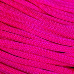 Neon Pink 550 Paracord - 100 ft