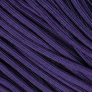 Purple 550 Paracord - 100 ft
