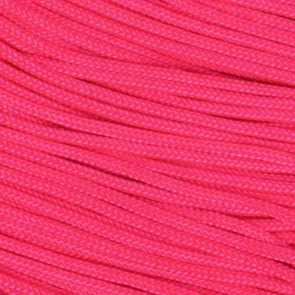 Neon Pink Type I Paracord - 100 ft