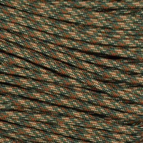 Woodland Digital Camo 550 Paracord - 50 ft