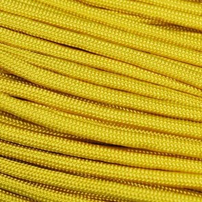 Yellow 550 Paracord - 100 ft