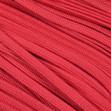 Scarlet Red Coreless Paracord