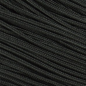 Black 275 Paracord - 1,000 ft Spool