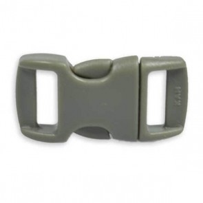 "3/8"" Side Release Buckle - Dark Gray"