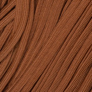 Chocolate Brown Coreless Paracord - 500 ft Spool