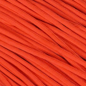 Fire Starter Neon Orange 550 Paracord