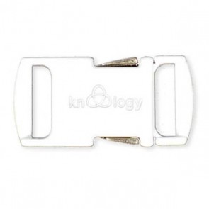 Nito .5 Metal Buckle - White