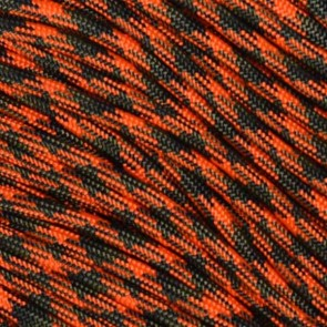 Orange Blaze Camo 550 Paracord