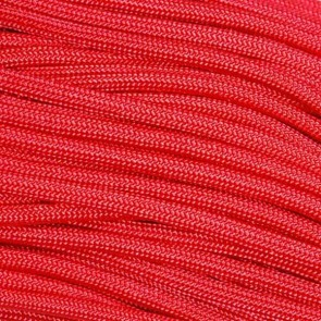 Red Mil-Spec 550 Type III Paracord - 100 ft