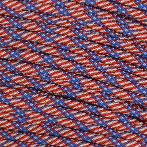 Stars and Stripes 550 Paracord - 1,000 ft Spool