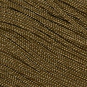 Coyote Brown Type I Paracord - 100 ft