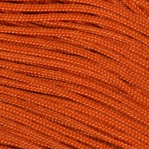 International Orange Type I Paracord - 100 ft
