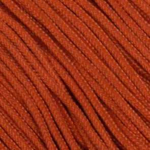 Solar (Burnt) Orange Type I Paracord - 100 ft